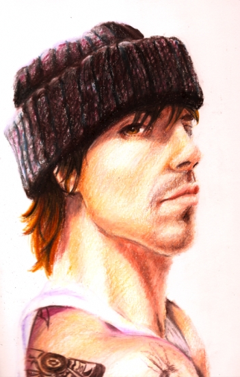 Anthony Kiedis par pamela